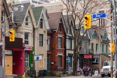 Historic neighborhood in Toronto
