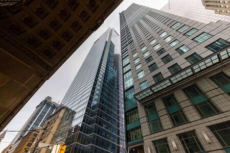 Foto de The City and Skyline of Toronto in Canada, May 30, 2019 - Imagen libre de derechos