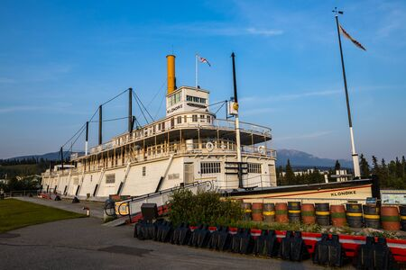 Photo for The SS Klondike at Whitehorse in Canada, June 28, 2019 - Royalty Free Image