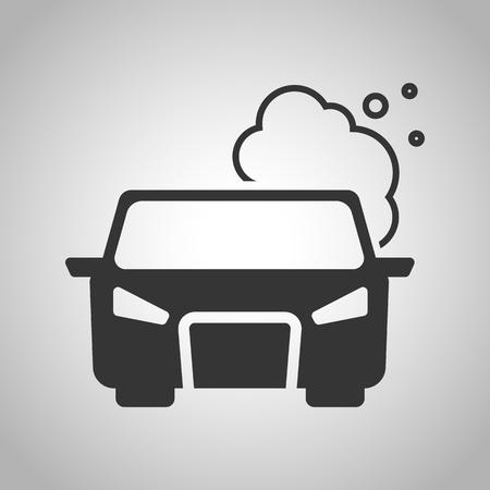 pollute the air icon