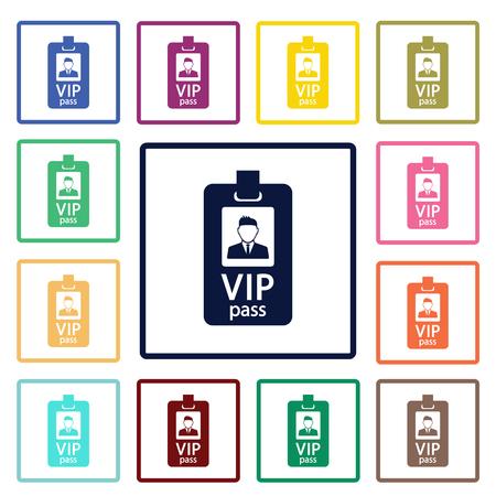 Illustration pour VIP guest icon - image libre de droit