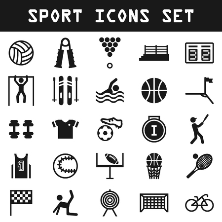 big sport icon set