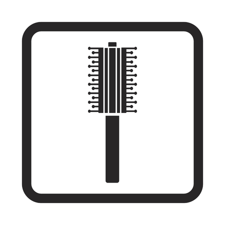 combs for hair icon
