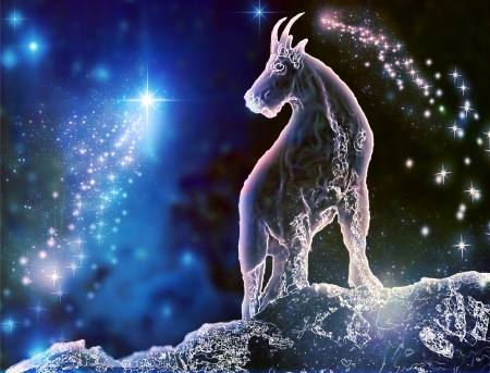 Goat is a mystical zodiac animal  Capricorn is the most stubborn sign  Feel the difference between astronomy and astrology