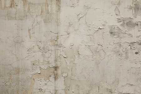 Foto de Old white grunge wall background or texture - Imagen libre de derechos