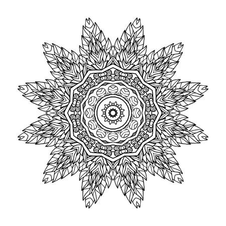 Pointed Mandala