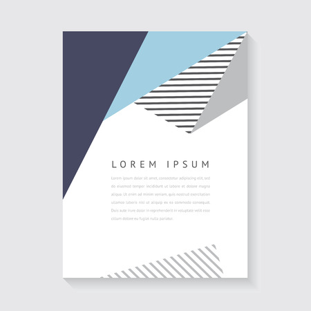 Abstract design for poster or brochure