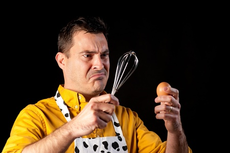 How to whisk an egg, a major challenge