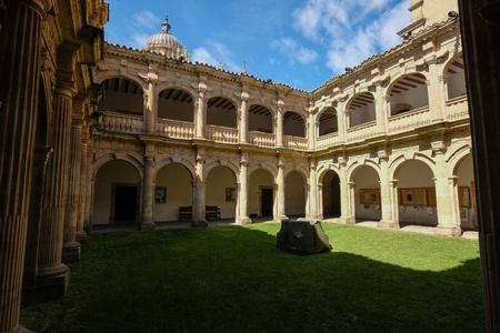 Architectural detail of Palacio de Anaya, Salamanca, Spain