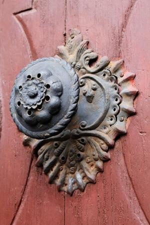 Doorknob on Church Trutnov