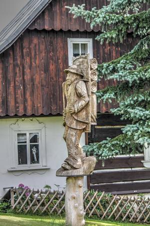 Wooden Statue Rokytnice nad Jizerou
