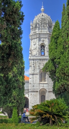 Tower of the Jeronimos Monastery (Lisbon)