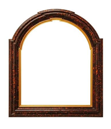 Antique Frame, isolated on white background