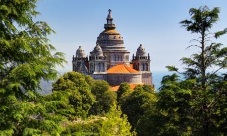 Basilica de Santa Luzia at Monte Santa Luzia near Viana do Castelo, Portugal