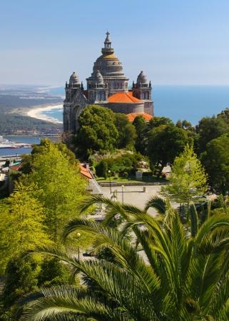 Basilica de Santa Luzia near Viana do Castelo, Portugal