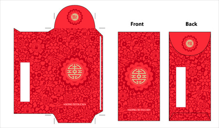 Chinese new year red envelope design