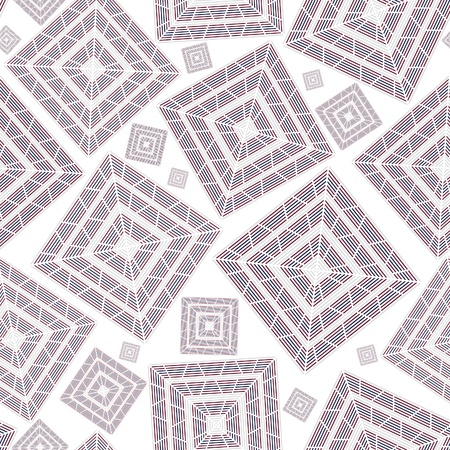 Abstract seamless square pattern background for wallpaper. Ceramic texture ornament.