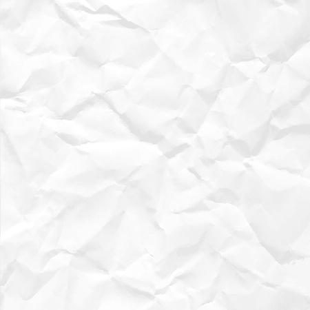 Illustration pour Paper crumpled seamless texture vector office background. - image libre de droit