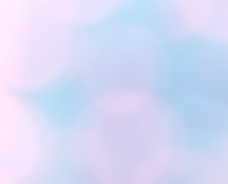 Abstract blur pink and blue bokeh background