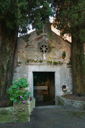 Church of St Anton is one of the smallest and oldest churches in Tivat city. Montenegro