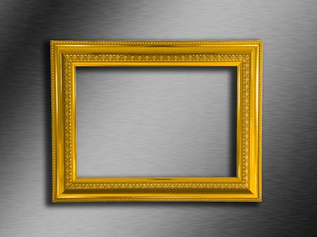 Photo pour gold frame - image libre de droit