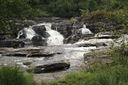 Waterfalls of Orchies in the Highlands of Scotland