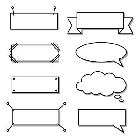 Illustration pour Bikablo - presentation scheme technique - Basic set gray shadow - image libre de droit