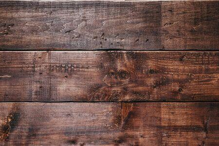 Photo pour Old wood background texture. Retro wooden table. Empty plank wooden wall texture background. - image libre de droit