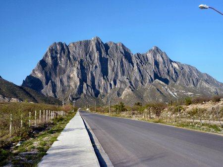 Potrero Chico, a world class rock climbing mountain just outside Hidalgo, Nuevo Leon, Mexico