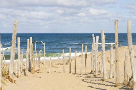 Sandy beach and ocean at cape cod mural rf images for Abri mural cape cod