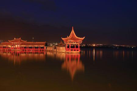 Pavilion---Chinese classic