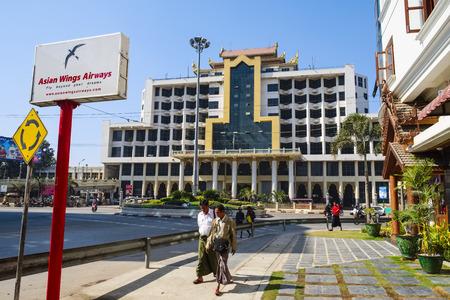 Main Station in Mandalay, Myanmar