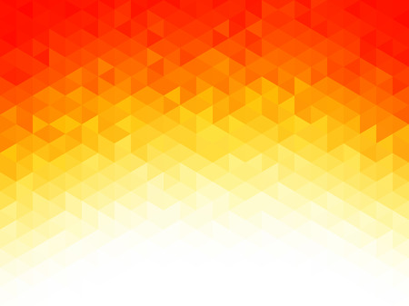 Photo pour Abstract background - Colorful Geometrical shapes, Polygonal texture for webdesign - Yellow, Red, Orange colors - image libre de droit