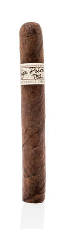 Winneconne , WI - 28 August 2020:  A La gran fabrica drew estate cigar on an isolated background.
