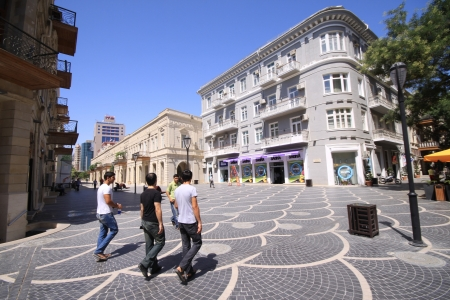Photo for Baku s old city center - Royalty Free Image