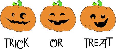 Create a fun border of smiling jack o lanterns.  What a fun twist to Halloween fun!