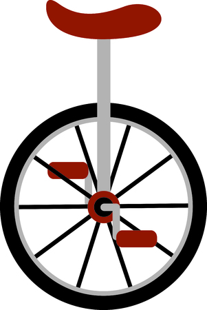 Use this image of unicycle in your design.