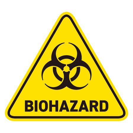 Illustration pour Biohazard Mark Warning - image libre de droit