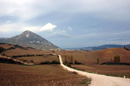 Camino de Santiago, long distance foot pilgrimage, Spain, Europe
