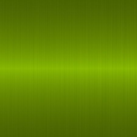 brushed green metallic background with central highlight