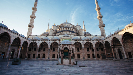 Courtyard at Blue Mosque, Istanbul