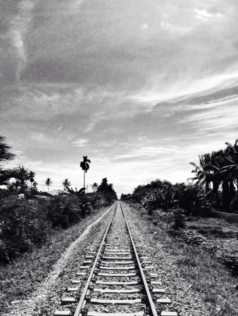 Vanishing railway point