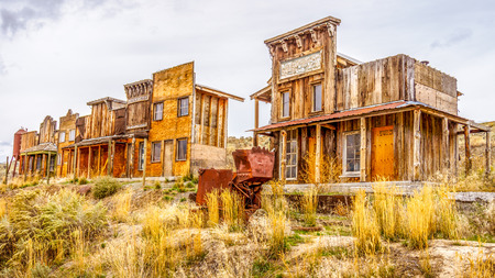 Old Western Ghost Town