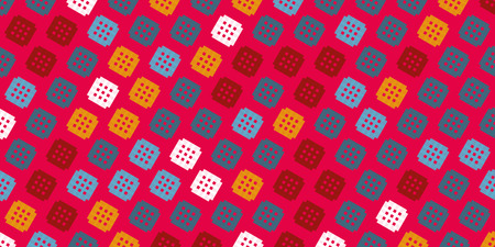 Illustration pour Creative abstract design, vector illustration from random repetitive rectangles - image libre de droit