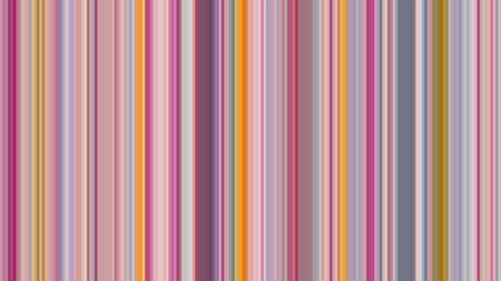 Illustration for Colorful vertical stripe vector pattern. Print for interior design and fabric. - Royalty Free Image