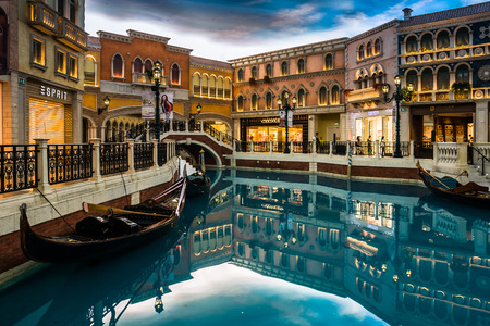 The Venetian Macao-Resort-Hotel in Macau, China