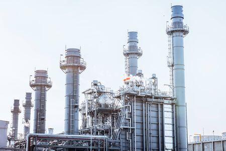 Foto für Glow light of petrochemical industry on sunset and Twilight sky ,Power plant,Energy power station area - Lizenzfreies Bild