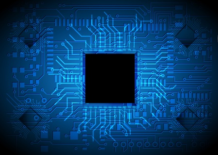 technology background, chip design