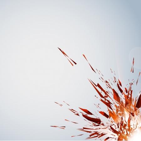 Vector Explosion, all easy editable - add your text
