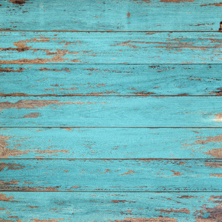 Foto de Vintage wood background with peeling paint. - Imagen libre de derechos